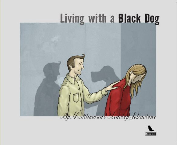 Living with a Black Dog Cover